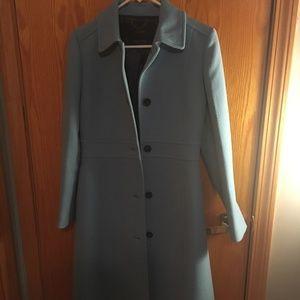 2016 Double-Cloth Lady Day Coat - Cornflower Blue